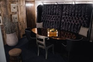 Seating in the snug